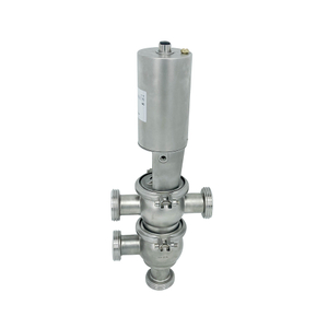 Sanitary Hygienic Stainless Steel Flow Division Diverter Valves