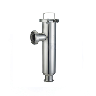 Sanitary Stainless Steel Angle Clamp Thread Filter Strainer