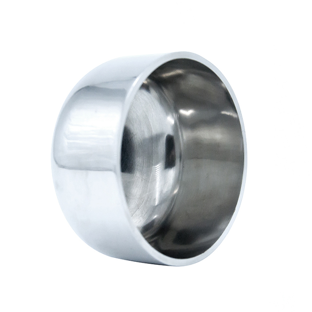 Sanitary Stainless Steel Clamp Pipe Blind End Cap