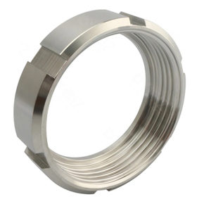 DIN Sanitary Stainless Steel Round Nut For Union