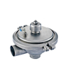 Sanitary Stainless Steel Adjustable Regulating Clamp Safety Valve