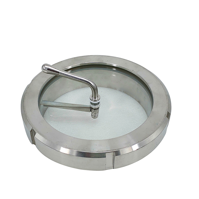 Sanitary Stainless Steel Clamp Straight Type Sight Glass