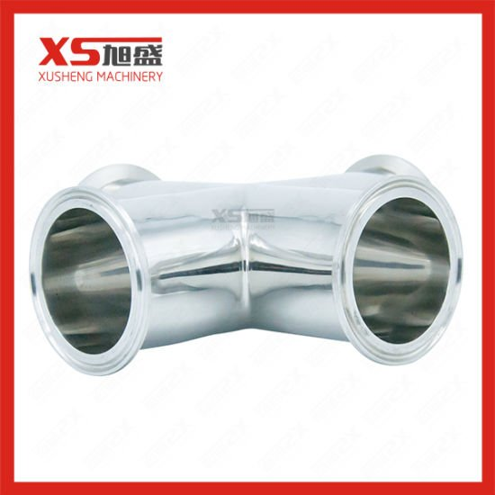 Stainles Steel Sanitary SS304 Clamp Four Cross