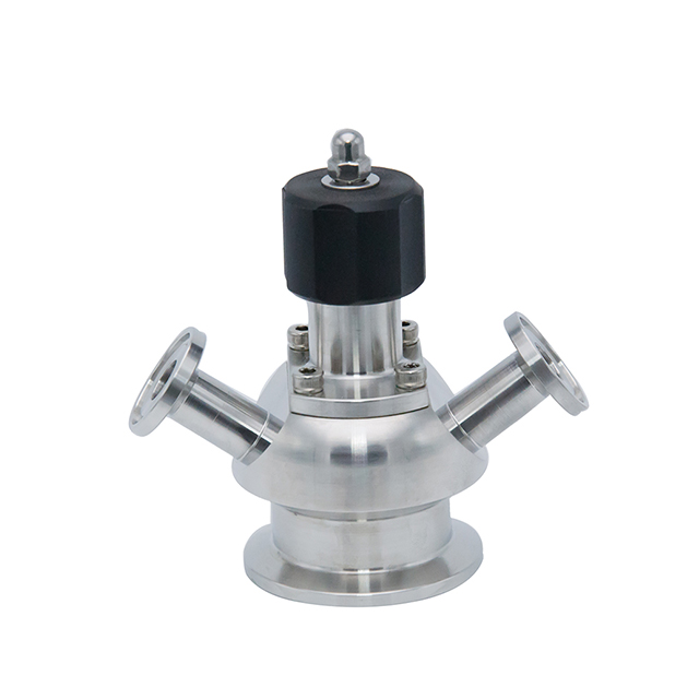 Sanitary Stainless Steel Manual Welding Clamp Sampling Valve