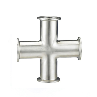 Sanitary Stainless Steel Connection Forged Equal Long Cross