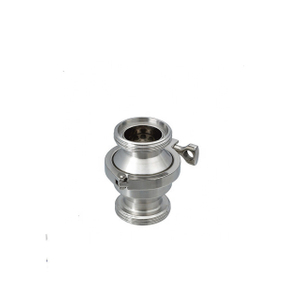 Sanitary Stainless Steel Clamp Type Thread Check Valve