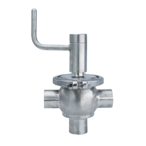 Hygienic Sanitary Shut Off Single Seat Diverter Valves