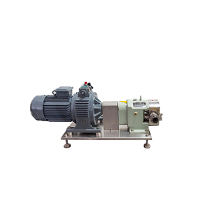 ZB3A-8 1.5KW Sanitary Stainless Steel Hygienic Rotary Lobe Pump