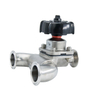 304 316L Sanitary Stainless Steel Manual Diaphragm Valve