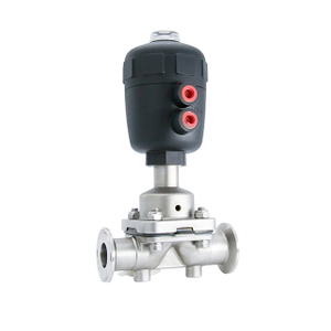 Sanitary Stainless Steel Plastic Actuator Pneumatic Diaphragm Valve