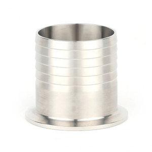 Sanitary Stainless Steel Pipe Barb Clamp Hose Adapter