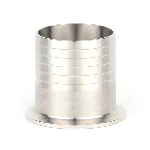 Sanitary Stainless Steel High Pressure Liner Hose Adapter