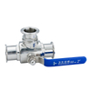 Stainless Steel Sanitary T Port Three-way Ball Valves