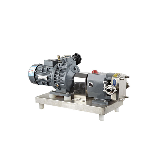 Sanitary 316L Stainless Steel Cam Rotor Lobe Pump