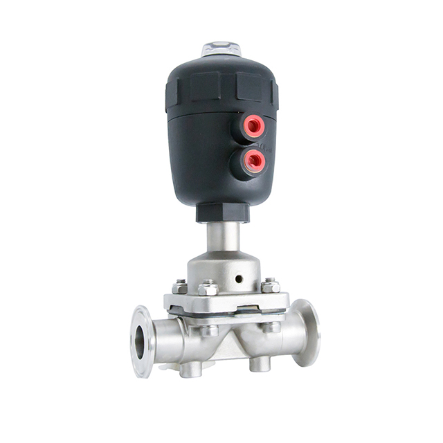 304 Stainless Steel Sanitary Manual Diaphragm Valve
