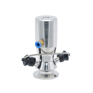 Sanitary 316L Stainless Steel Pneumatic Aseptic Sampling Valve