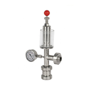 Sanitary Pressure Gauge Cross Type Air Relief Valve