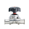 Sanitary 304 Stainless Steel Manual Bottom Diaphragm Valve