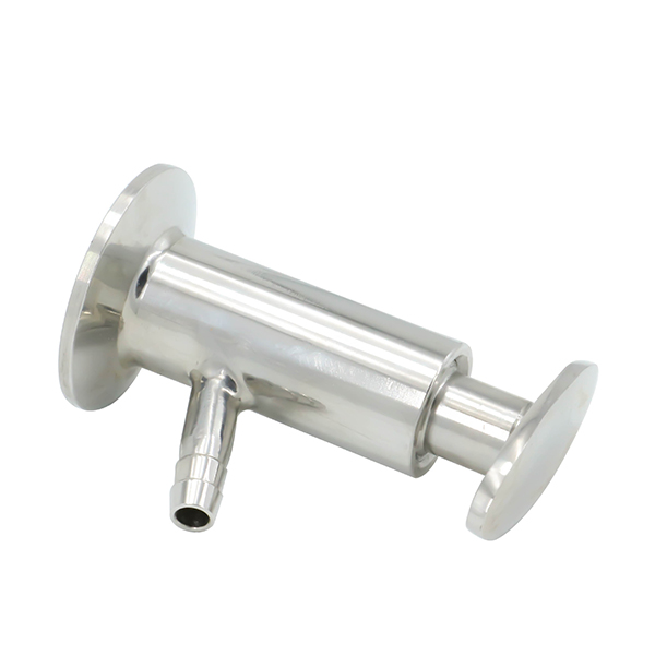 Sanitary Stainless Steel SS304 Clamped Sampling Cock Valve