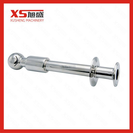 Stainless Steel Tank Cleaning CIP Rotary Spray Ball with Double Clamping