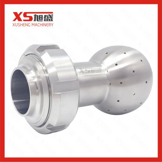 Stainless Steel Hygienic Static Spray Nozzle with Union Assembly