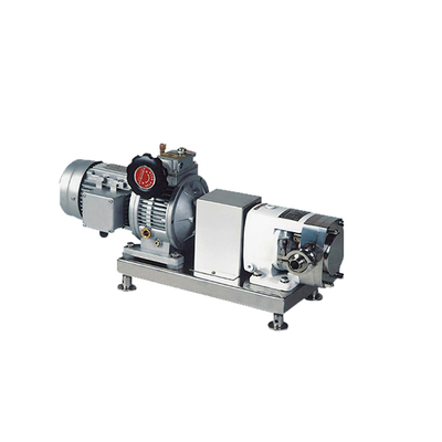 ZB3A-3 0.55KW Stainless Steel Sanitary Lobe Rotary Pump for Transferring High Viscocity