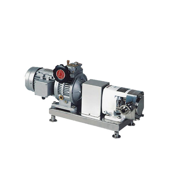 ZB3A-66 7.5KW SS304 SS316L Sanitary Lobe Rotary Pump for Ice Cream