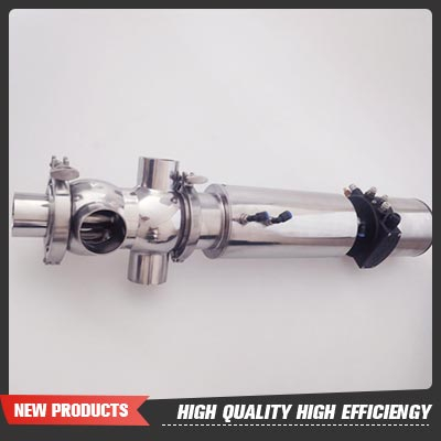 101.6MM Stainless Steel SS304 Sanitary SMP-Bc Mixproof Valves with Remote-Controlled Head