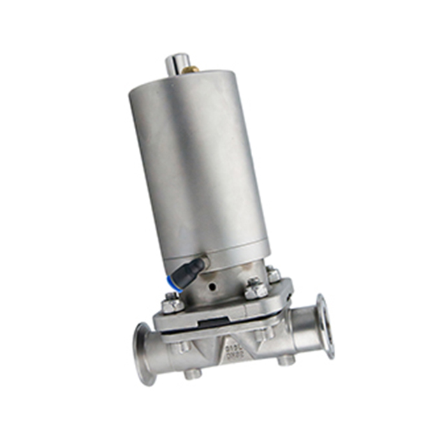 Sanitary Stainless Steel Pneumatic Straight Type Diaphragm Valve