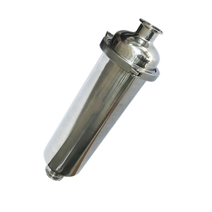Sanitary 304 316L Welding Stright Type Filter Strainer