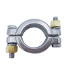 Sanitary 304 Pipe Single Pin Clamp Ferrule Assembly