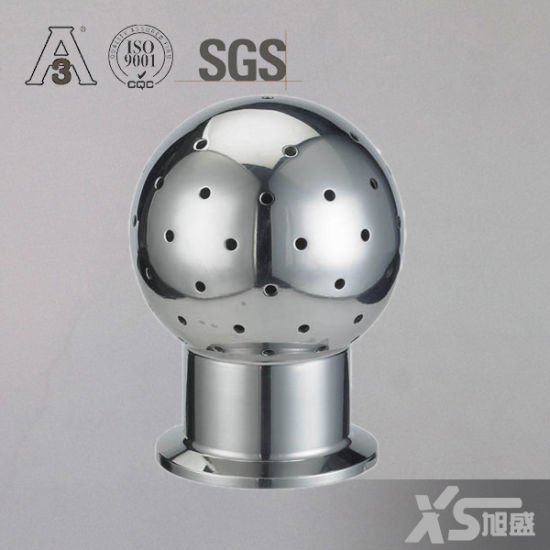 Sanitary Stainless Steel Ss0304 Ss316L Triclamp Fixed Spray Ball