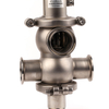 Stainless Steel Sanitary Intelligent Pneumatic Mix-Proof Valves