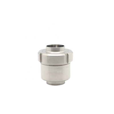 Sanitary Stainless Steel Union Spring Type Check Valve