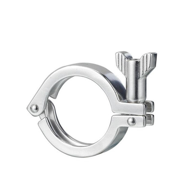 Sanitary Double Pin Ferrule Tri Clamp Ferrule Assembly