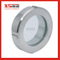 Stainless Steel Sanitay Union Type View Sight Glass