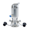 Stainless Steel Aseptic Pneumatic And Manual Sampling Valves