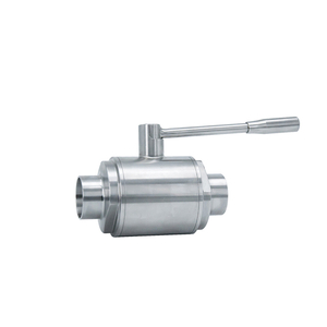 SS304 SS316L Stainless Steel Sanitary Welded Ball Valve