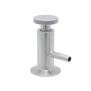 Stainless Steel Sanitary Normal Type Clamped Sampling Valves
