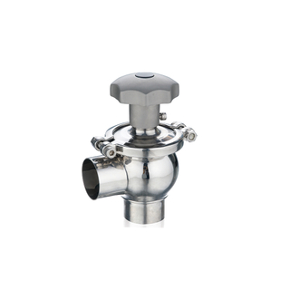 Stainless Steel Sanitary Mannual Flow Regulating Valve