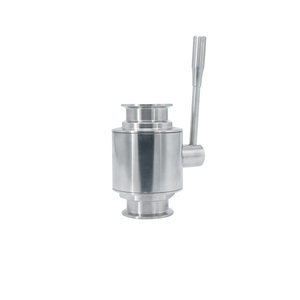 Stainless Steel SS304 Sanitary Straight Clamping Ball Valves