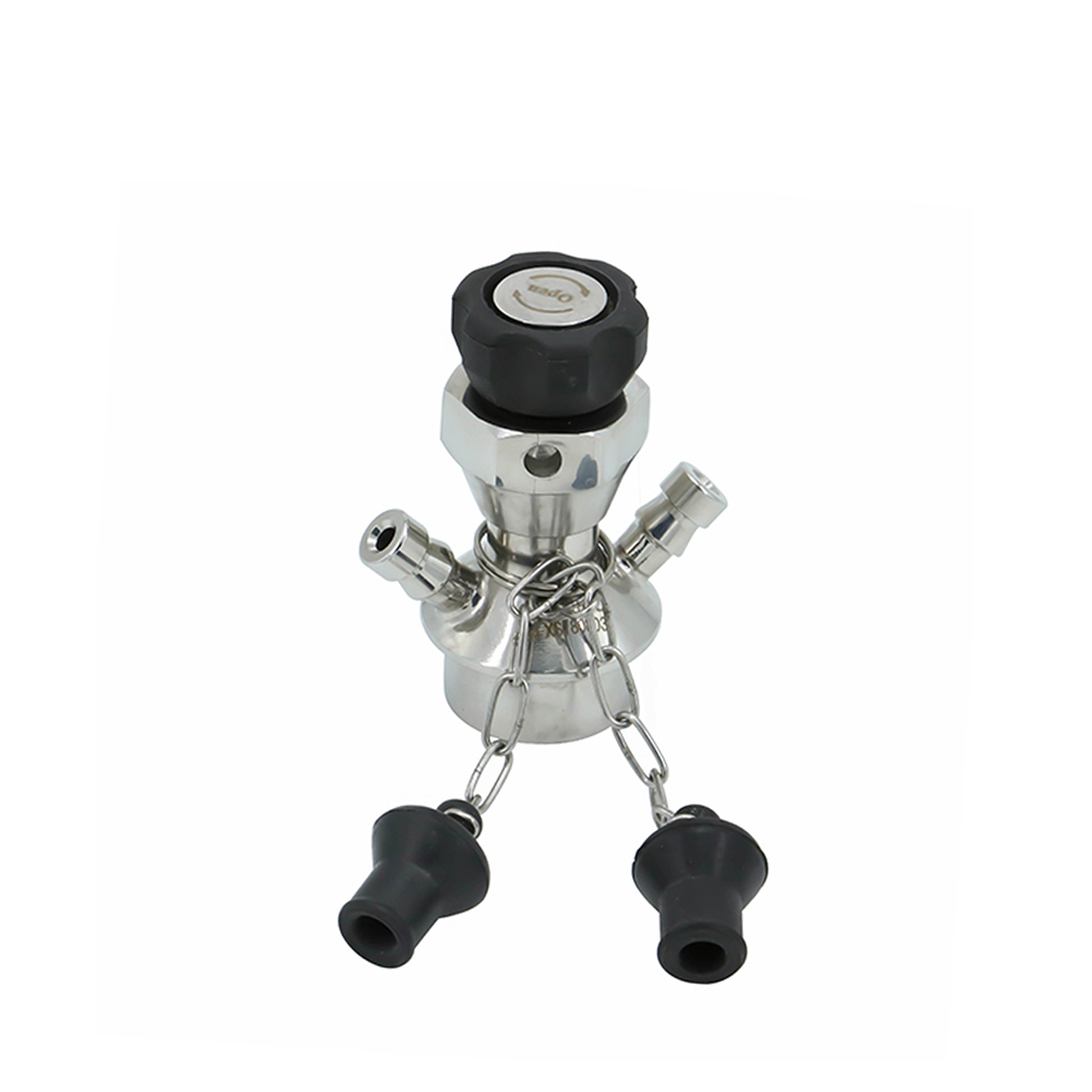 M4 SGF Stainless Steel Clamping Aseptic Sterile Sampling Valve