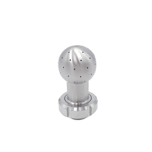 Hygienic Stainless Steel Static Spray Nozzle with Union Assembly