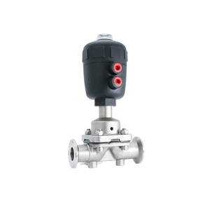 Hygienic Stainless Steel Two Way Pneumatic Diaphragm Valves