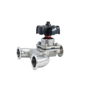 Stainless Steel 316L Sanitary Manual U-Type Diaphragm Valve