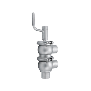 Stainless Steel Manual Flow Control Divert Valve